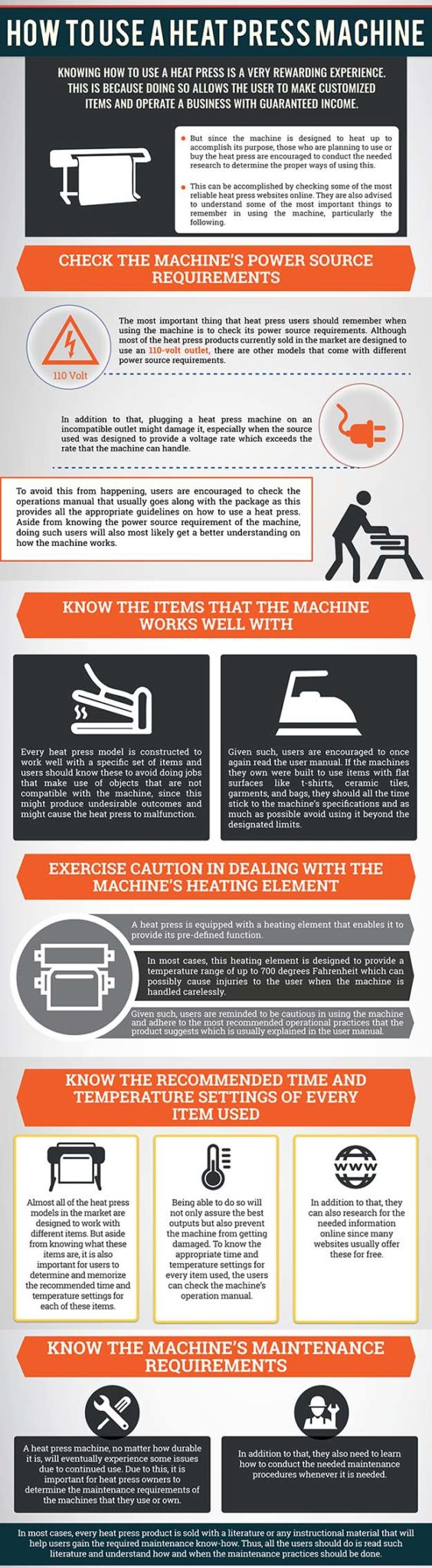 How to use a heat press