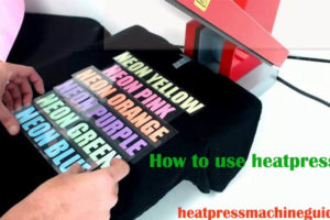How to use heat press vinyl