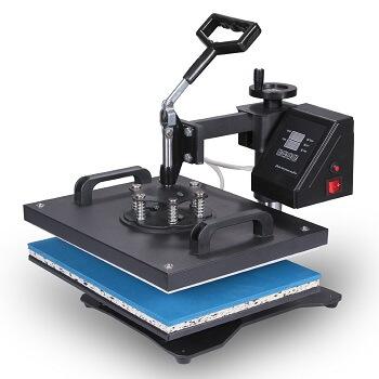 VEVOR Heat Press 8 in 1 Combo Multifunction Sublimation Heat Transfer Machine